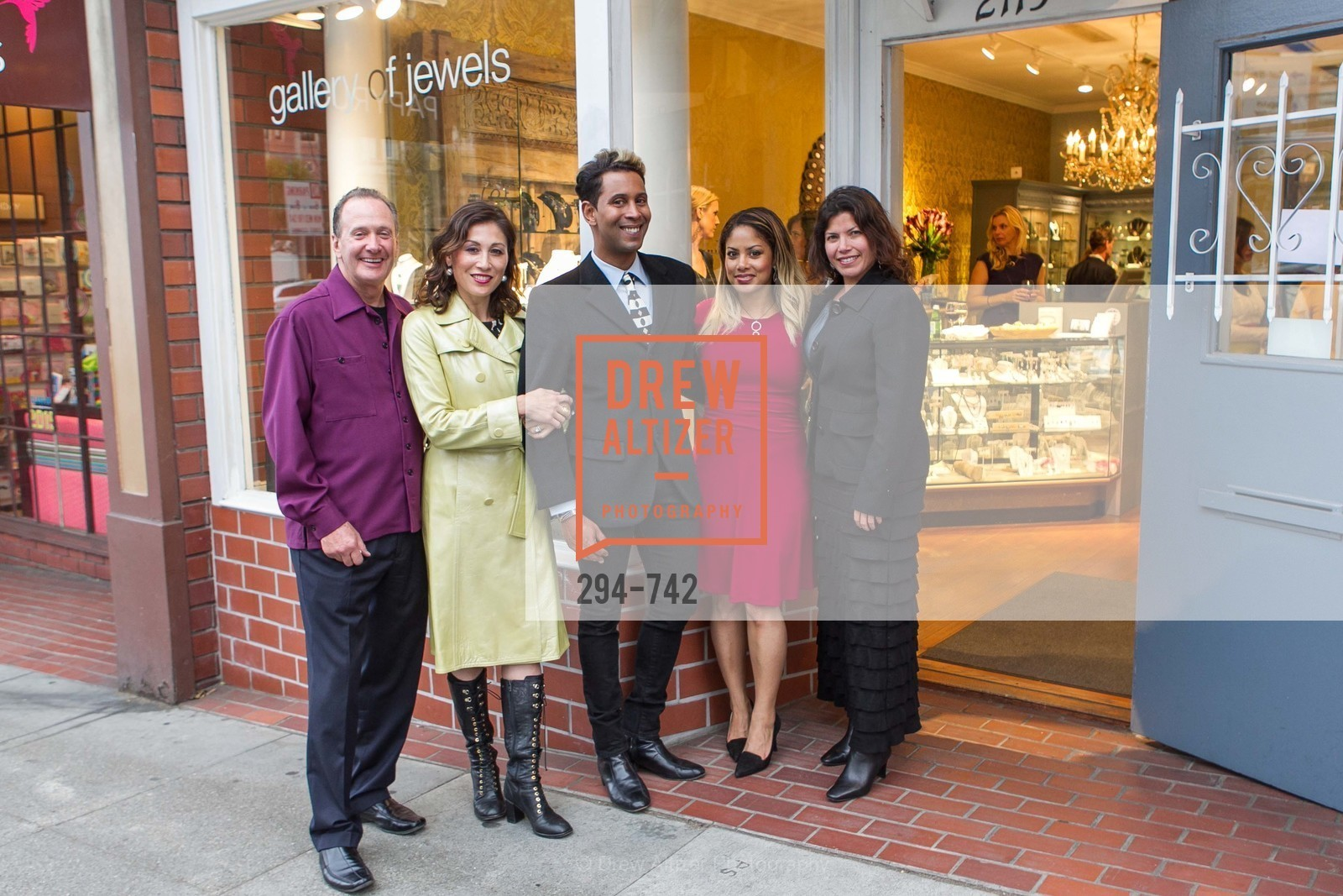 Bill Hoover, Michelle Pender, Emillio Mesa, Alyssa Etzel, LUXETIGERS & GALLERY OF JEWELS Benefit for Dress for Success, US, May 20th, 2015,Drew Altizer, Drew Altizer Photography, full-service agency, private events, San Francisco photographer, photographer california
