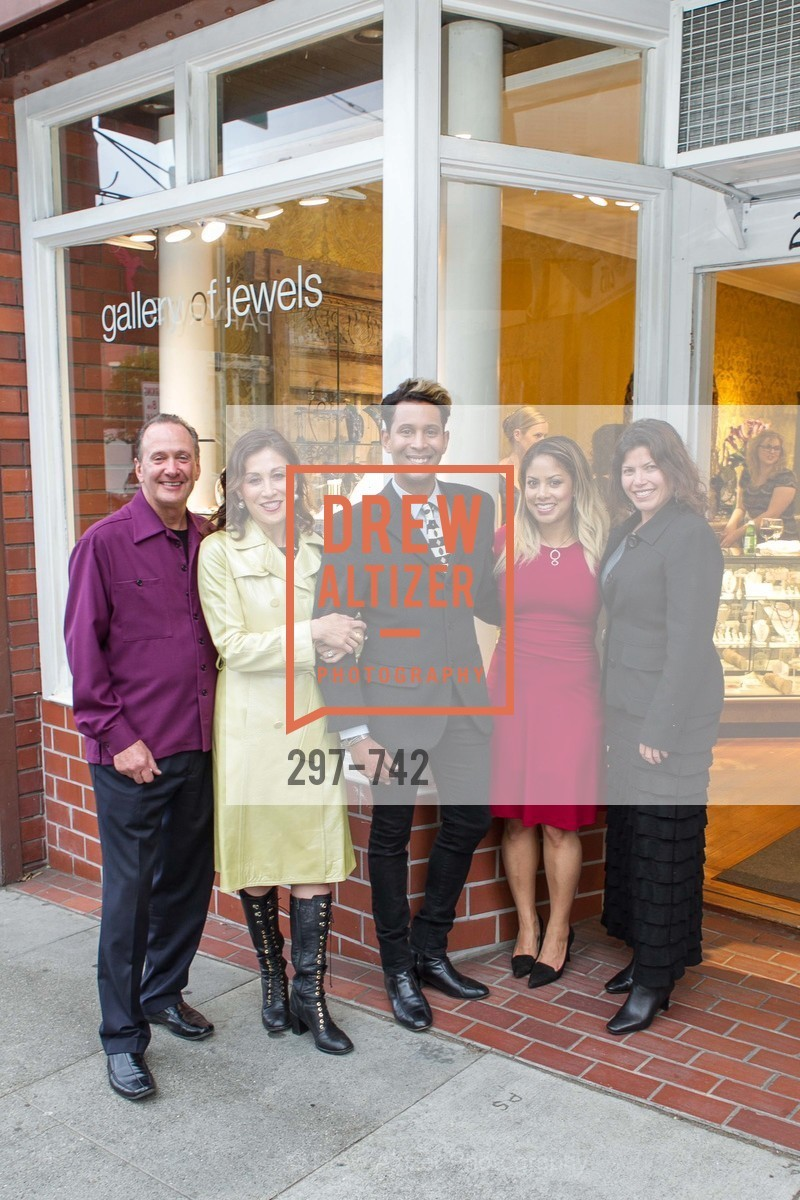 Bill Hoover, Michelle Pender, Emillio Mesa, Alyssa Etzel, LUXETIGERS & GALLERY OF JEWELS Benefit for Dress for Success, US, May 21st, 2015,Drew Altizer, Drew Altizer Photography, full-service agency, private events, San Francisco photographer, photographer california