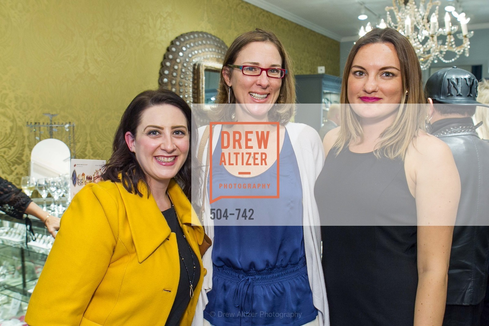 Gia Barsi, Julie Sims, Rena Ramirez, LUXETIGERS & GALLERY OF JEWELS Benefit for Dress for Success, US, May 21st, 2015,Drew Altizer, Drew Altizer Photography, full-service agency, private events, San Francisco photographer, photographer california