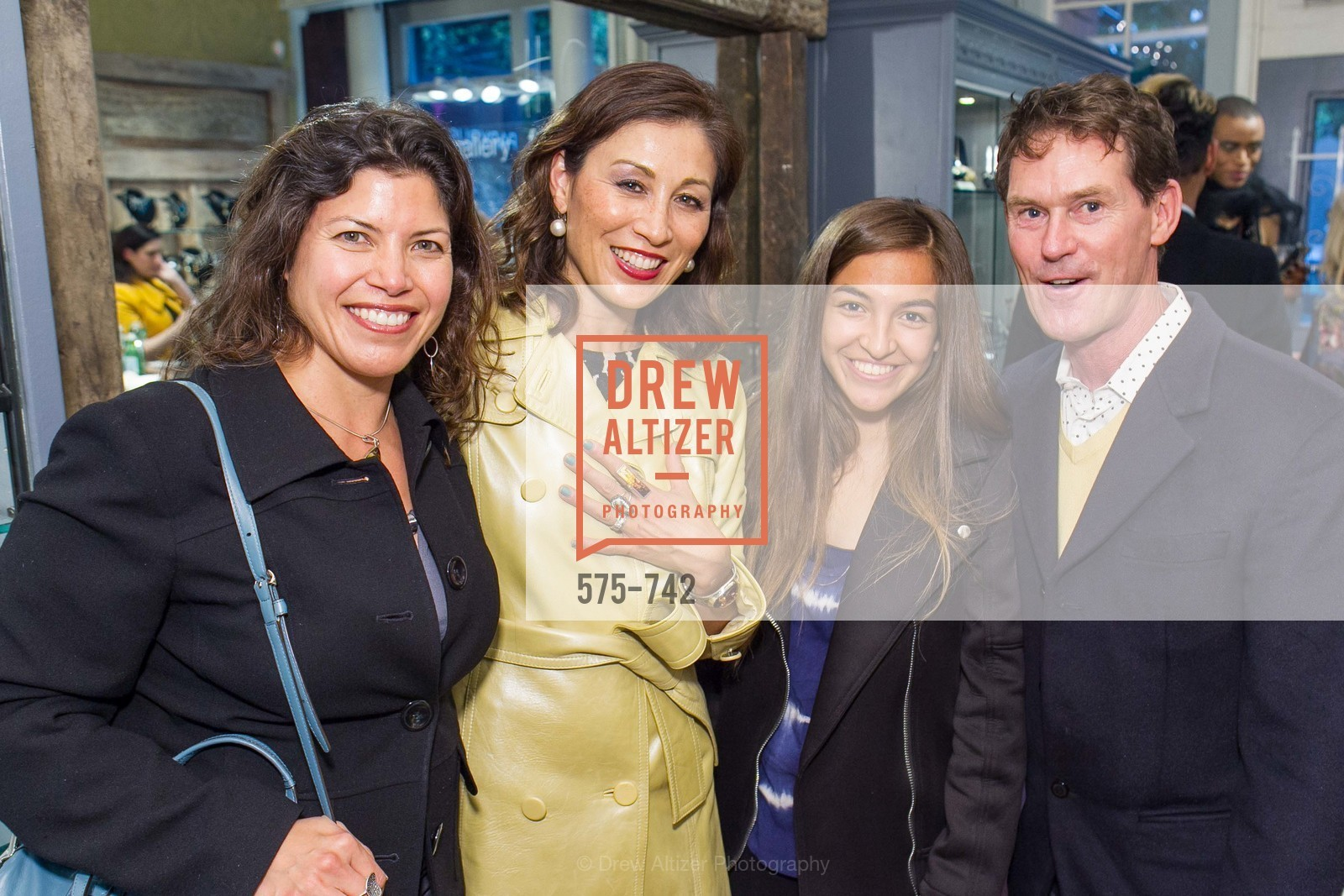 Alyssa Etzel, Michelle Pender, Emilie Rader, Ian Murray, LUXETIGERS & GALLERY OF JEWELS Benefit for Dress for Success, US, May 20th, 2015,Drew Altizer, Drew Altizer Photography, full-service agency, private events, San Francisco photographer, photographer california