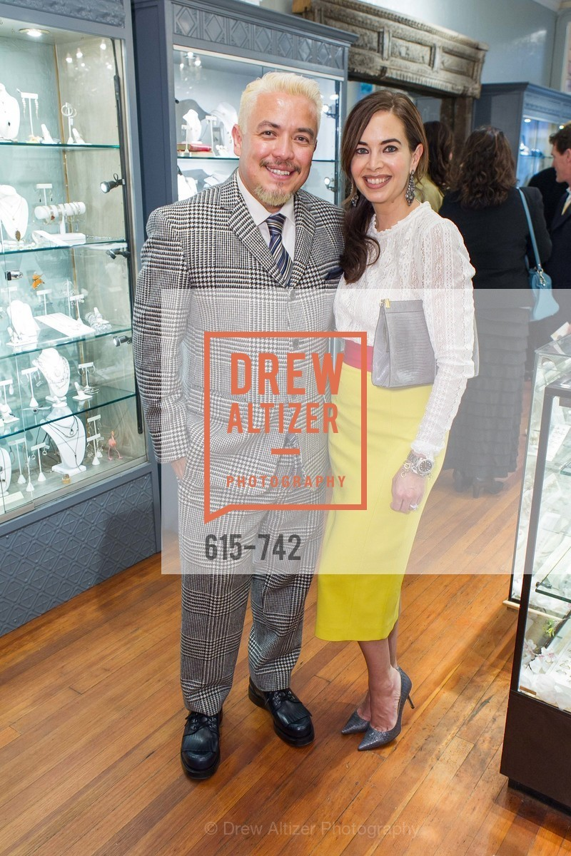 Victor Vargas, Rachel Clinnick, LUXETIGERS & GALLERY OF JEWELS Benefit for Dress for Success, US, May 21st, 2015,Drew Altizer, Drew Altizer Photography, full-service event agency, private events, San Francisco photographer, photographer California