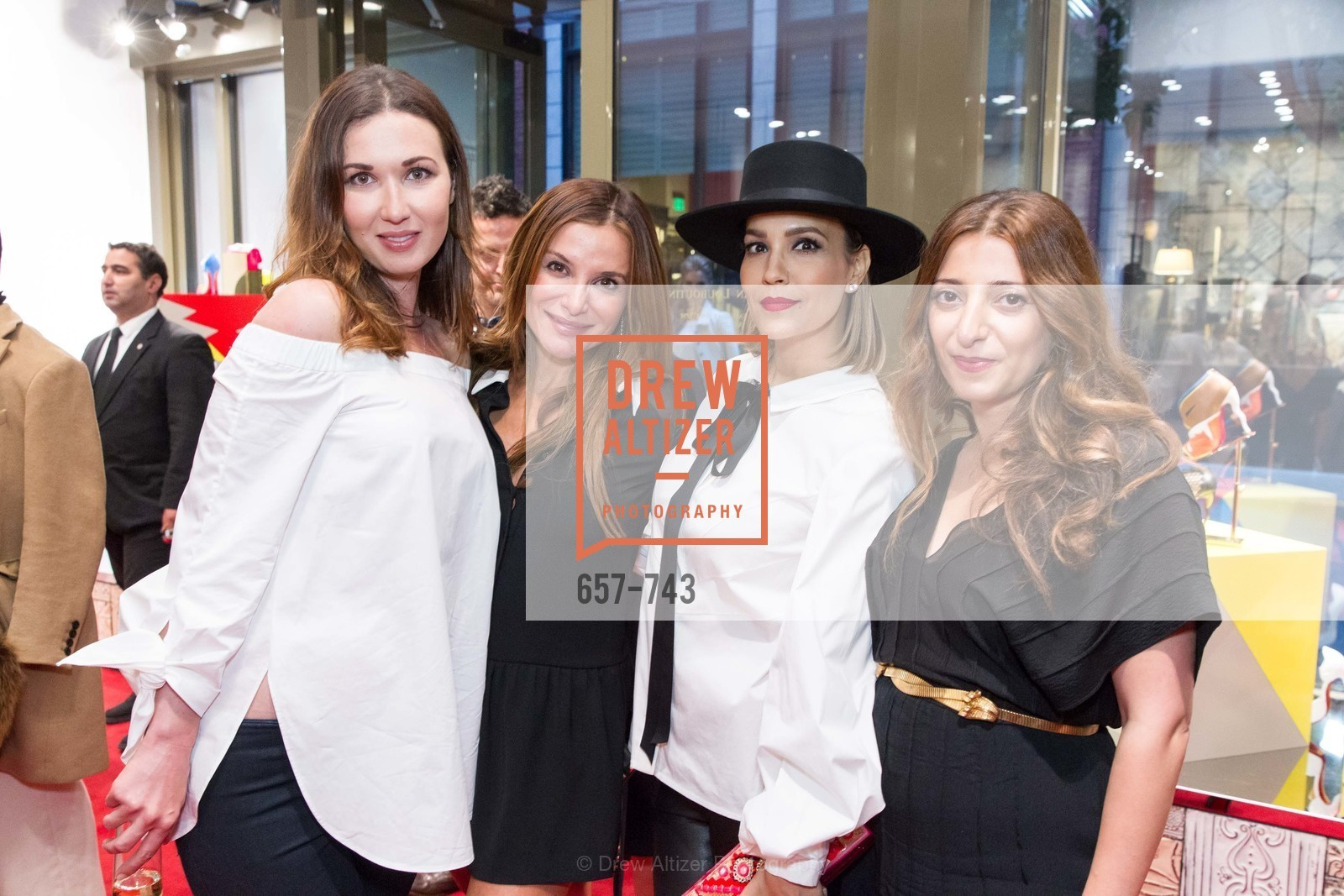 Camilla Papale, Claudia Ross, Lora DuBain, Kristina Musailov, CHRISTIAN LOUBOUTIN Anniversary Party, US, May 21st, 2015,Drew Altizer, Drew Altizer Photography, full-service agency, private events, San Francisco photographer, photographer california