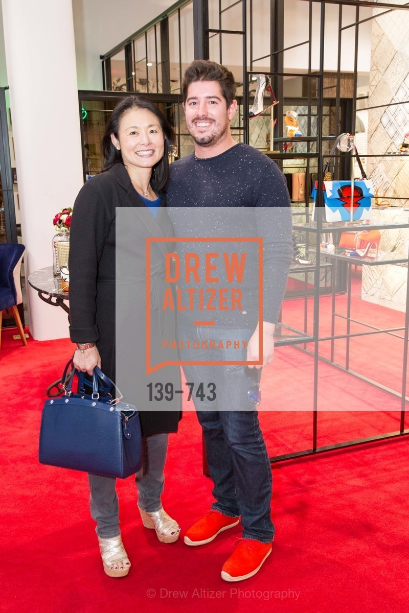 Esther Sun, Brandon Harrington, CHRISTIAN LOUBOUTIN Anniversary Party, US, May 21st, 2015,Drew Altizer, Drew Altizer Photography, full-service agency, private events, San Francisco photographer, photographer california