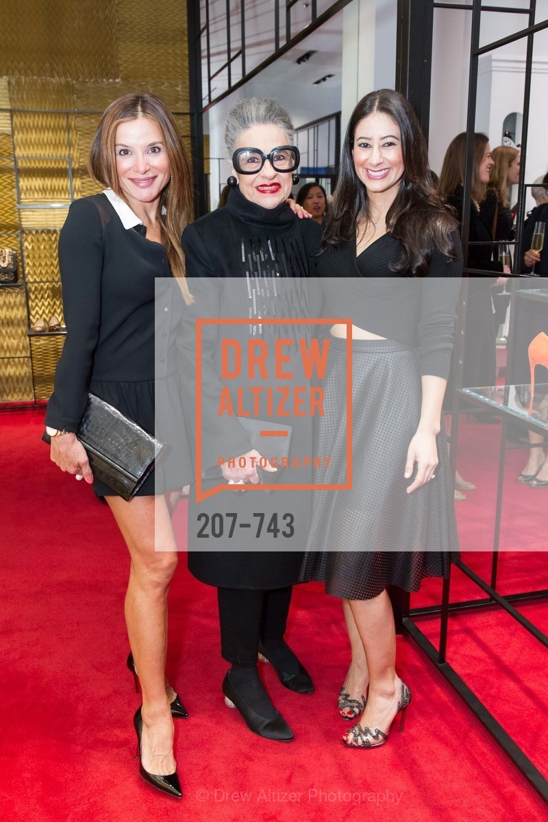 Claudia Ross, Joy Venturini Bianchi, Mehrnoush Arabian, CHRISTIAN LOUBOUTIN Anniversary Party, US, May 20th, 2015,Drew Altizer, Drew Altizer Photography, full-service agency, private events, San Francisco photographer, photographer california