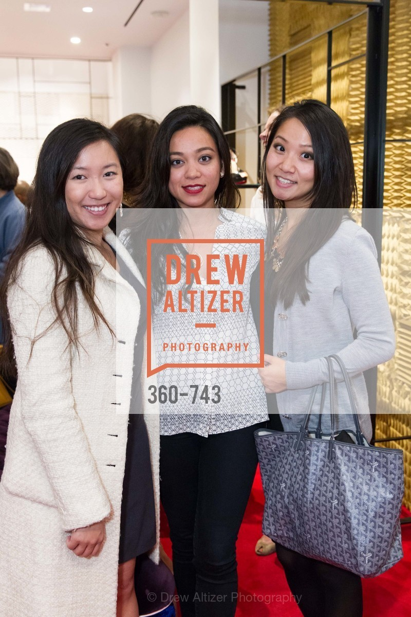 Jiong Liu, Rowena Mittal, Annie Lee, CHRISTIAN LOUBOUTIN Anniversary Party, US, May 21st, 2015,Drew Altizer, Drew Altizer Photography, full-service agency, private events, San Francisco photographer, photographer california