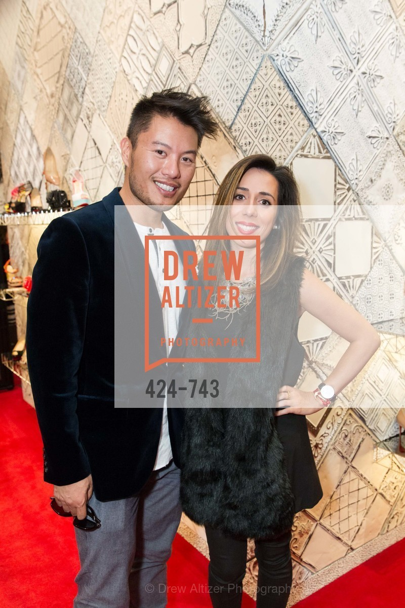 Richard Chua, Shadi Nayyer, CHRISTIAN LOUBOUTIN Anniversary Party, US, May 21st, 2015,Drew Altizer, Drew Altizer Photography, full-service agency, private events, San Francisco photographer, photographer california