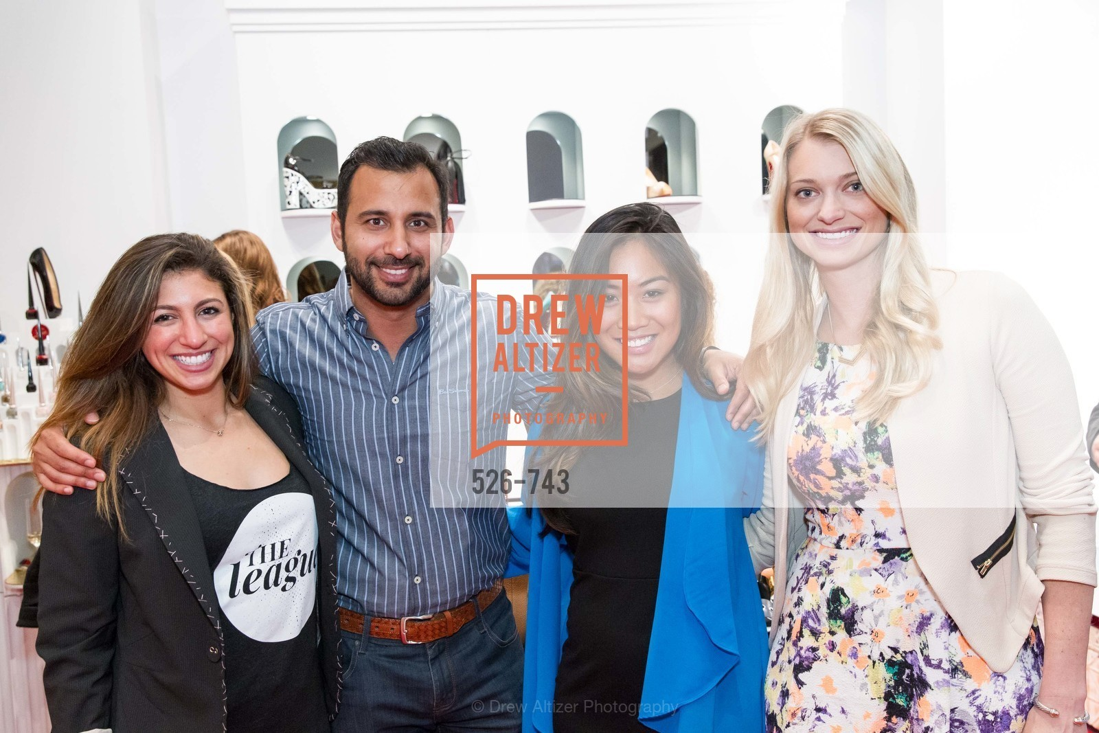 Meredith Davis, Payam Pakmanesh, Louella Aquino, Amanda Bradford, CHRISTIAN LOUBOUTIN Anniversary Party, US, May 21st, 2015,Drew Altizer, Drew Altizer Photography, full-service agency, private events, San Francisco photographer, photographer california