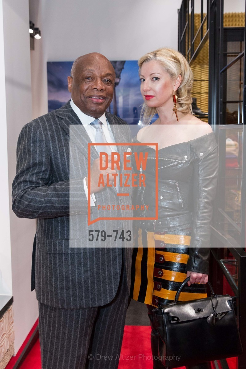 Willie Brown, Sonya Molodetskaya, CHRISTIAN LOUBOUTIN Anniversary Party, US, May 20th, 2015,Drew Altizer, Drew Altizer Photography, full-service agency, private events, San Francisco photographer, photographer california