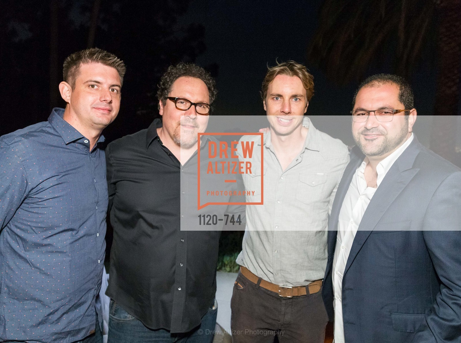 Kevin Gibbon, Jon Favreau, Dax Shepard, Shervin Pishevar, Celebration of Launch of SHYP in Los Angeles, US, May 21st, 2015,Drew Altizer, Drew Altizer Photography, full-service event agency, private events, San Francisco photographer, photographer California