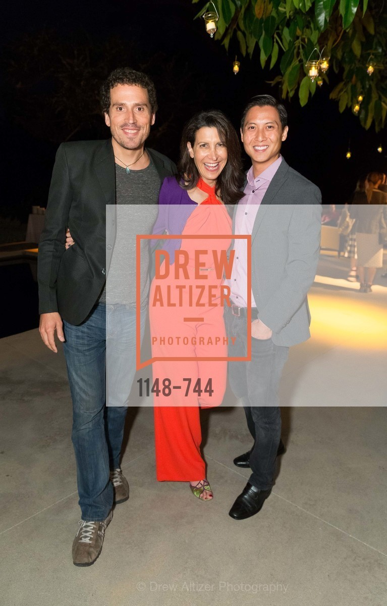 Gunnar Lovely, Tina Sharkey, Brian Yee, Celebration of Launch of SHYP in Los Angeles, US, May 21st, 2015