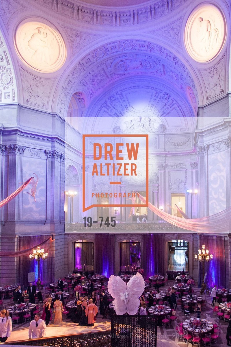 Atmosphere, San Francisco Ballet 2016 Opening Night Gala Part 2, San Francisco City Hall, January 21st, 2016,Drew Altizer, Drew Altizer Photography, full-service event agency, private events, San Francisco photographer, photographer California