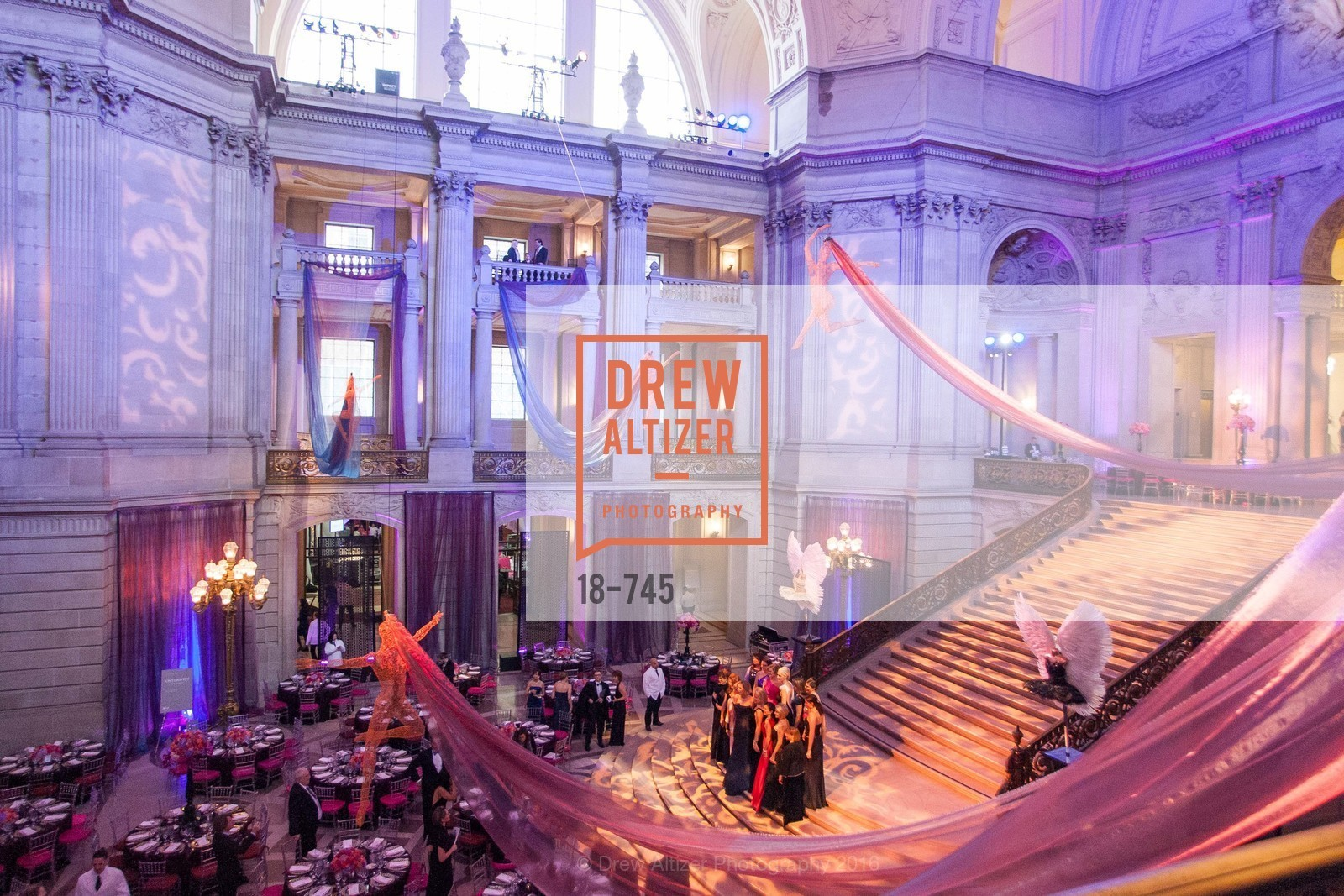 Atmosphere, San Francisco Ballet 2016 Opening Night Gala Part 2, San Francisco City Hall, January 21st, 2016,Drew Altizer, Drew Altizer Photography, full-service agency, private events, San Francisco photographer, photographer california