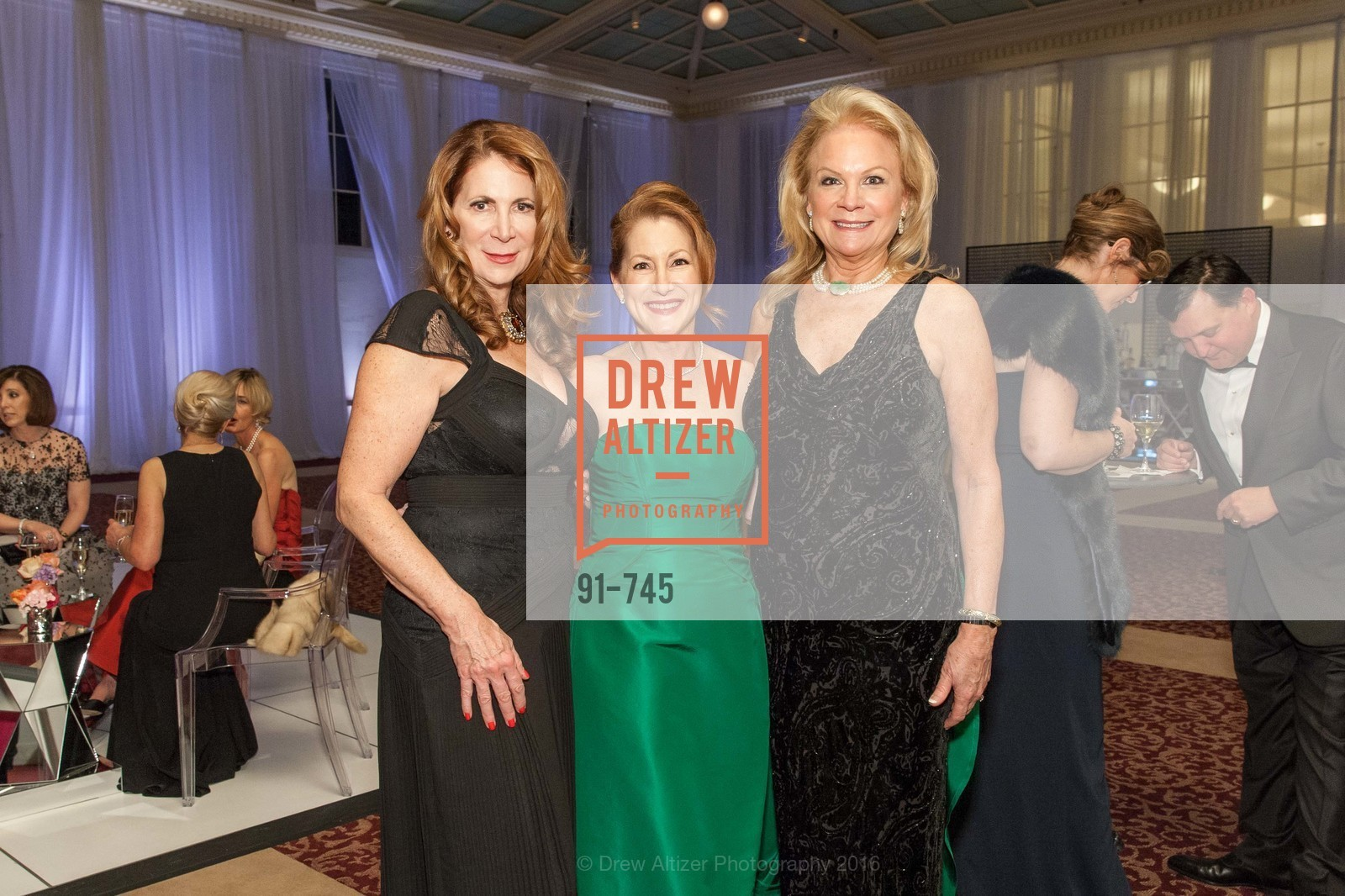 Patricia Ferrin Loucks, Ave Seltsam, Claire Kostic, San Francisco Ballet 2016 Opening Night Gala Part 2, San Francisco City Hall, January 21st, 2016,Drew Altizer, Drew Altizer Photography, full-service agency, private events, San Francisco photographer, photographer california