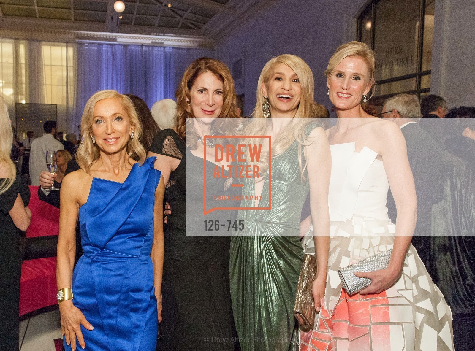 Shelley Gordon, Patricia Ferrin Loucks, Navid Armstrong, Alison Mauze, San Francisco Ballet 2016 Opening Night Gala Part 2, San Francisco City Hall, January 21st, 2016,Drew Altizer, Drew Altizer Photography, full-service agency, private events, San Francisco photographer, photographer california