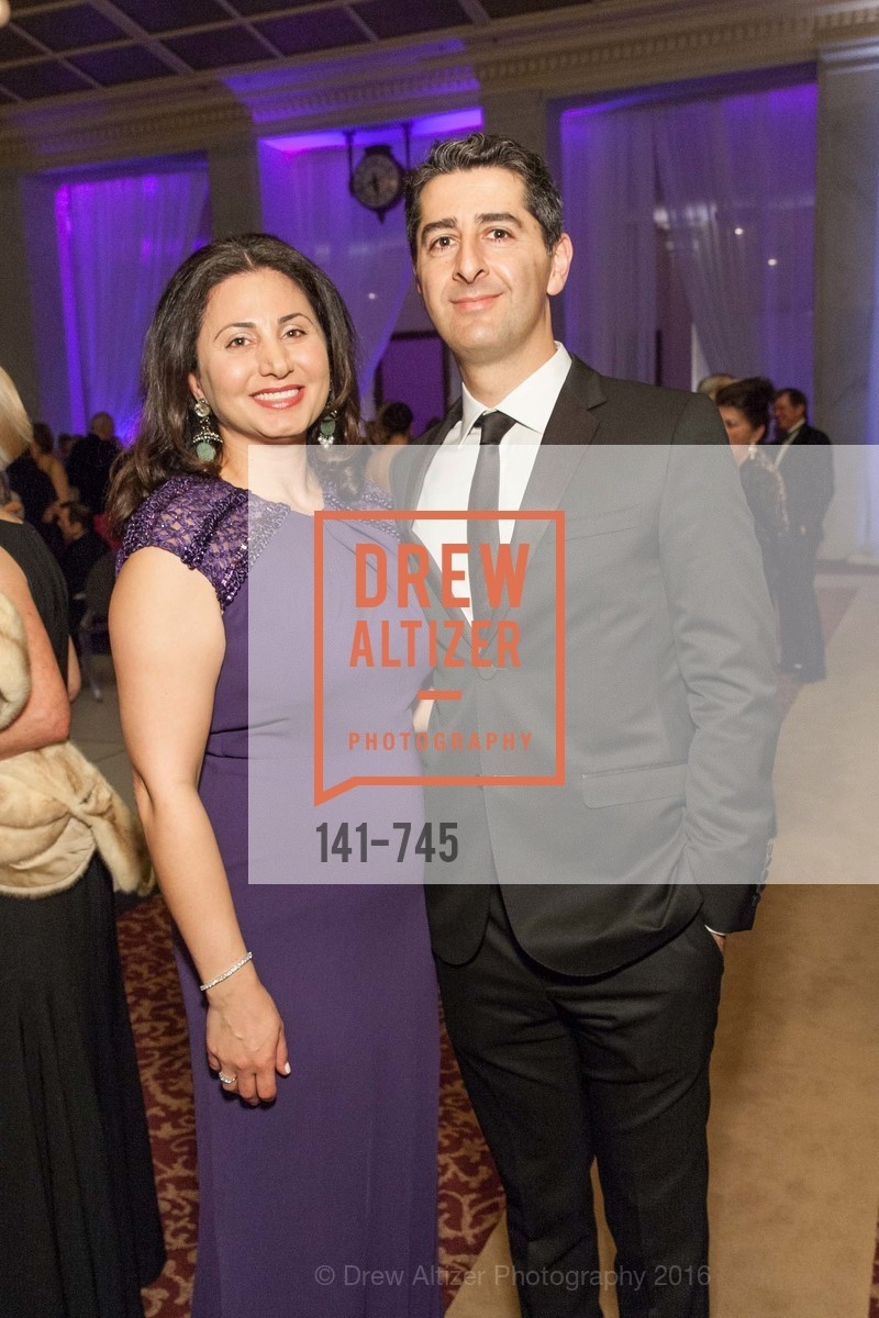 Shokooh Miry, Steve Mohebi, San Francisco Ballet 2016 Opening Night Gala Part 2, San Francisco City Hall, January 21st, 2016,Drew Altizer, Drew Altizer Photography, full-service agency, private events, San Francisco photographer, photographer california