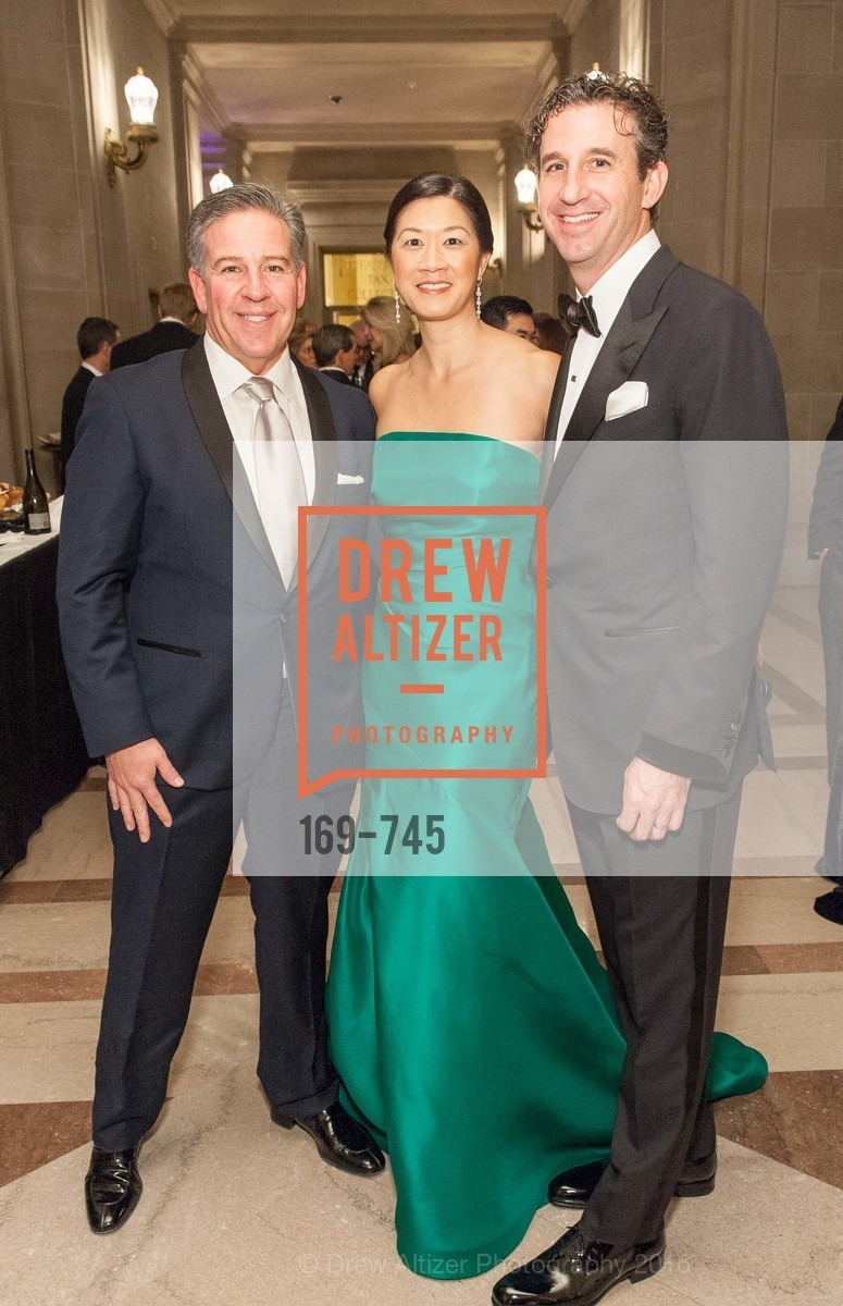 Gregg Lynn, Christine Leong Connors, Scott Connors, San Francisco Ballet 2016 Opening Night Gala Part 2, San Francisco City Hall, January 21st, 2016,Drew Altizer, Drew Altizer Photography, full-service event agency, private events, San Francisco photographer, photographer California