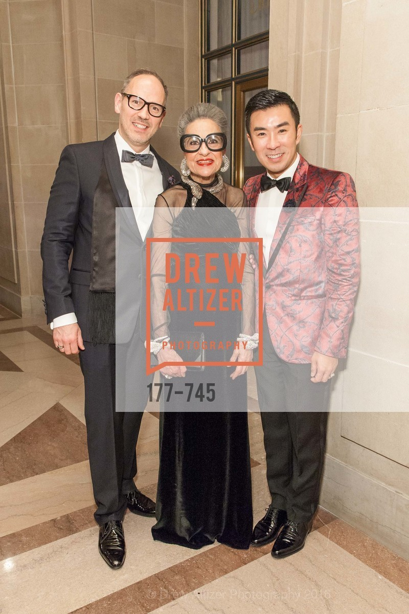 Eric Ormsby, Joy Venturini Bianchi, Kai Peng Pan, San Francisco Ballet 2016 Opening Night Gala Part 2, San Francisco City Hall, January 21st, 2016,Drew Altizer, Drew Altizer Photography, full-service agency, private events, San Francisco photographer, photographer california