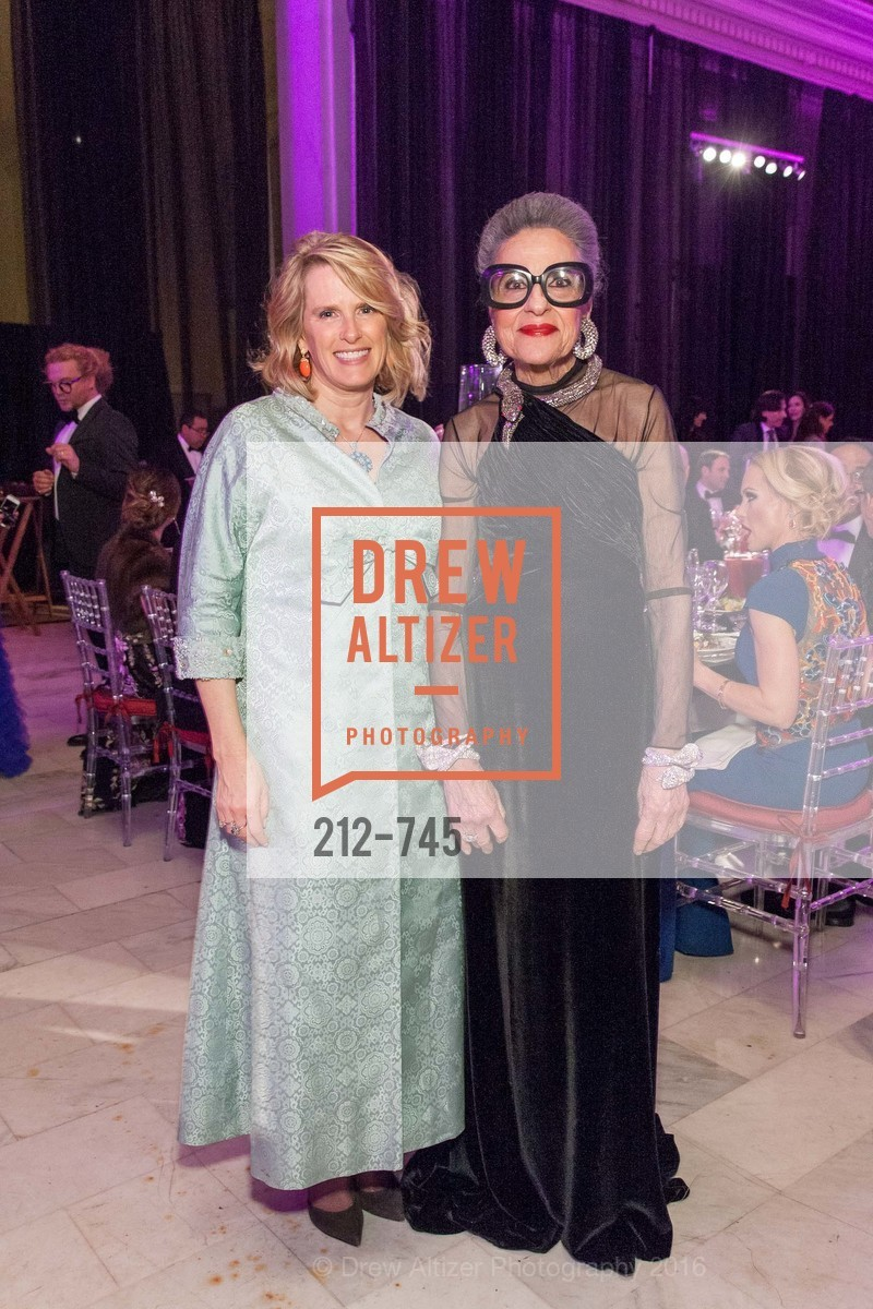 Marie Hurabiell, Joy Venturini Bianchi, San Francisco Ballet 2016 Opening Night Gala Part 2, San Francisco City Hall, January 21st, 2016,Drew Altizer, Drew Altizer Photography, full-service agency, private events, San Francisco photographer, photographer california