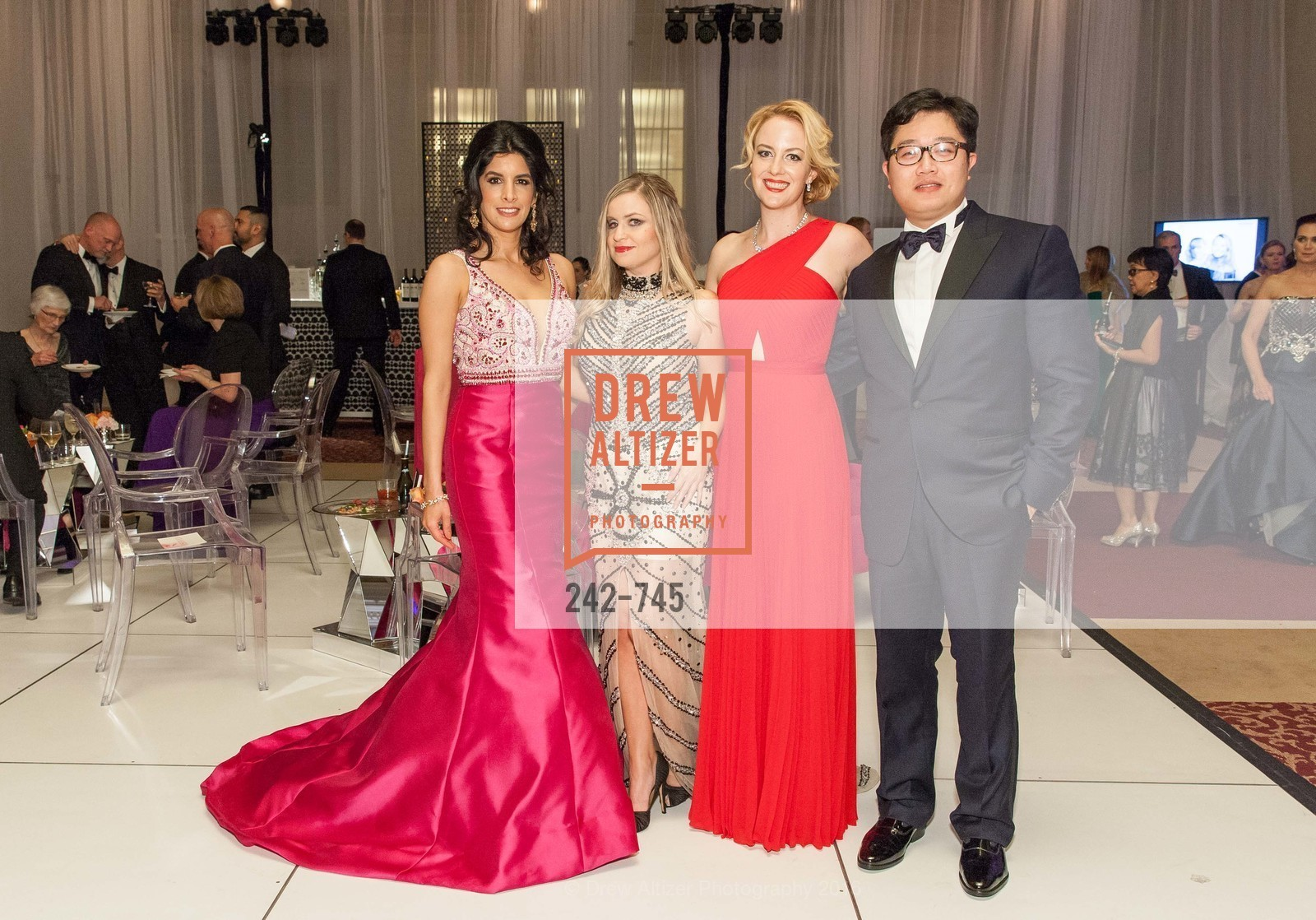 Veronica Rivas Tramontozzi, Julie Hall, Stephanie Sparling, Christopher Tse, San Francisco Ballet 2016 Opening Night Gala Part 2, San Francisco City Hall, January 21st, 2016,Drew Altizer, Drew Altizer Photography, full-service agency, private events, San Francisco photographer, photographer california