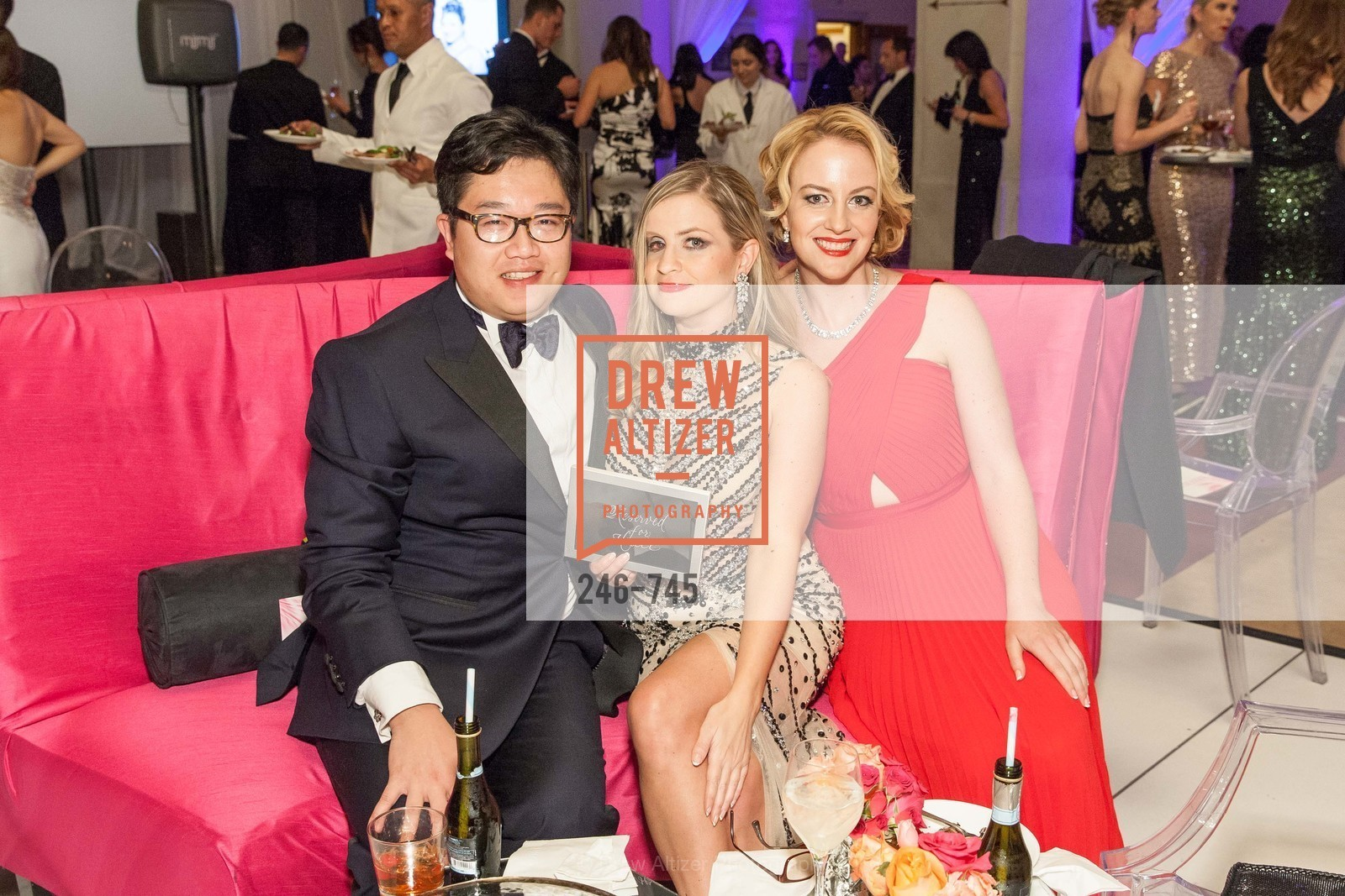 Christopher Tse, Julie Hall, Stephanie Sparling, San Francisco Ballet 2016 Opening Night Gala Part 2, San Francisco City Hall, January 21st, 2016,Drew Altizer, Drew Altizer Photography, full-service agency, private events, San Francisco photographer, photographer california