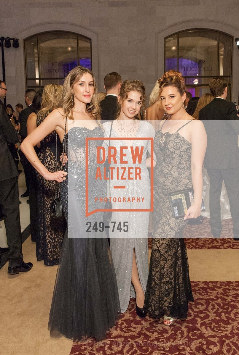 Lena Marchenko, Mariya Kutilova, Svetlana Vestel, San Francisco Ballet 2016 Opening Night Gala Part 2, San Francisco City Hall, January 21st, 2016,Drew Altizer, Drew Altizer Photography, full-service agency, private events, San Francisco photographer, photographer california