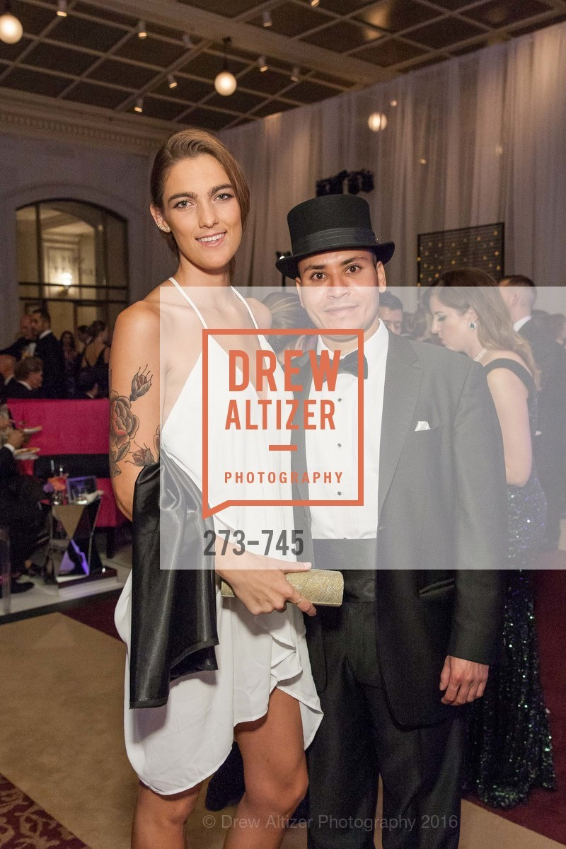 Daisy James, Chester Santos, San Francisco Ballet 2016 Opening Night Gala Part 2, San Francisco City Hall, January 21st, 2016,Drew Altizer, Drew Altizer Photography, full-service agency, private events, San Francisco photographer, photographer california