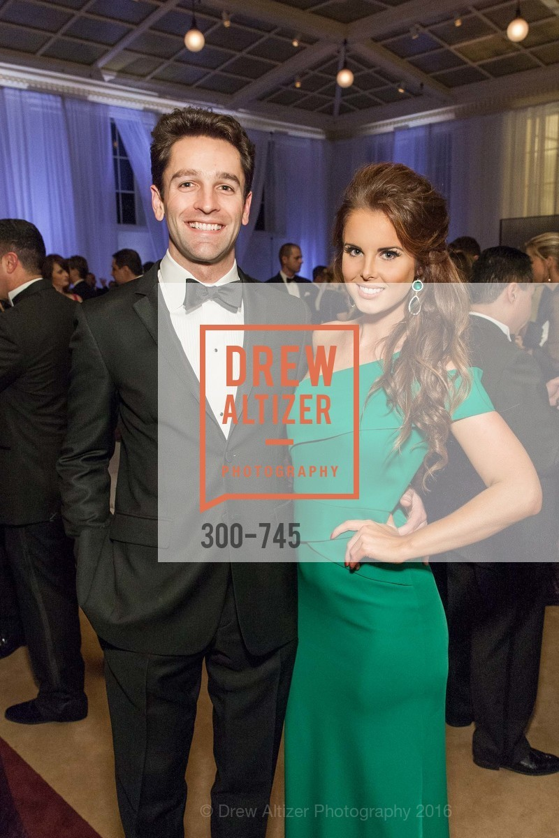 Ryan Hoffman, Marina D'Orthez, San Francisco Ballet 2016 Opening Night Gala Part 2, San Francisco City Hall, January 21st, 2016,Drew Altizer, Drew Altizer Photography, full-service event agency, private events, San Francisco photographer, photographer California