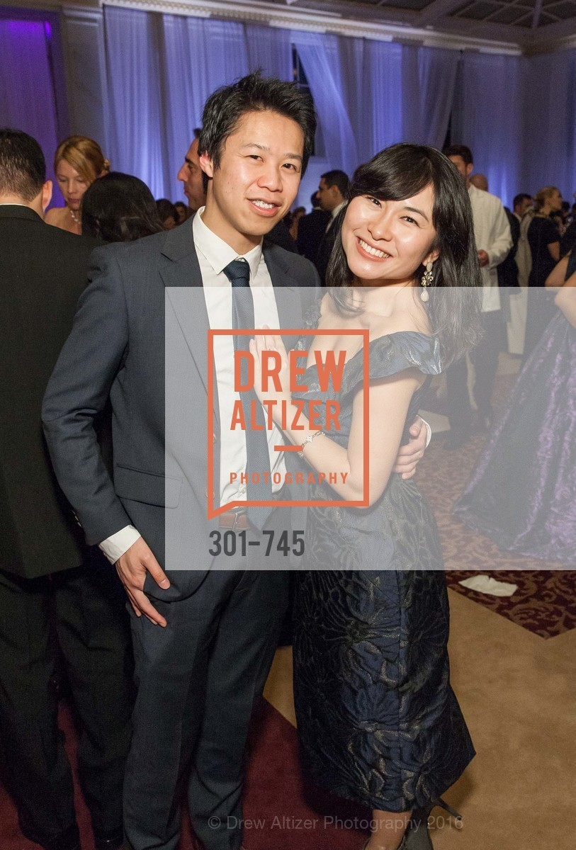 Michael Yee, Grace Dong, San Francisco Ballet 2016 Opening Night Gala Part 2, San Francisco City Hall, January 21st, 2016,Drew Altizer, Drew Altizer Photography, full-service agency, private events, San Francisco photographer, photographer california