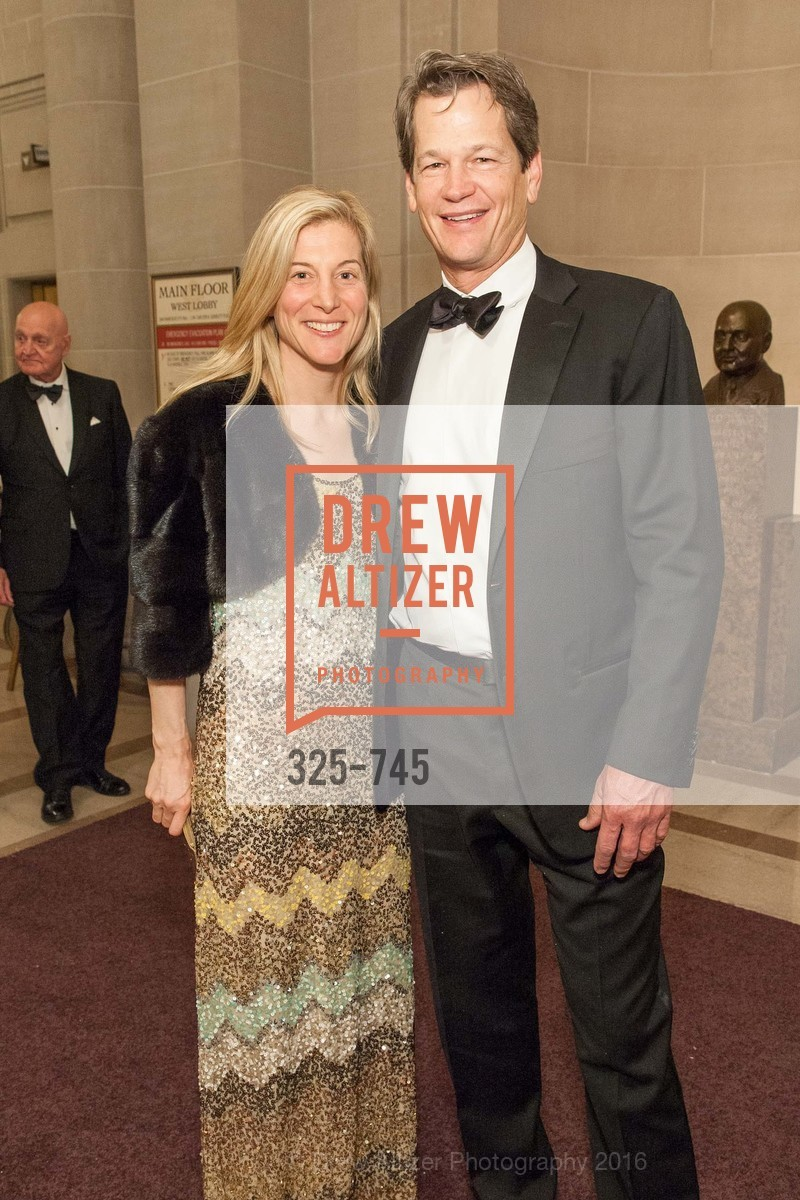 Wendy Anderson, Jim Milligan, San Francisco Ballet 2016 Opening Night Gala Part 2, San Francisco City Hall, January 21st, 2016,Drew Altizer, Drew Altizer Photography, full-service agency, private events, San Francisco photographer, photographer california