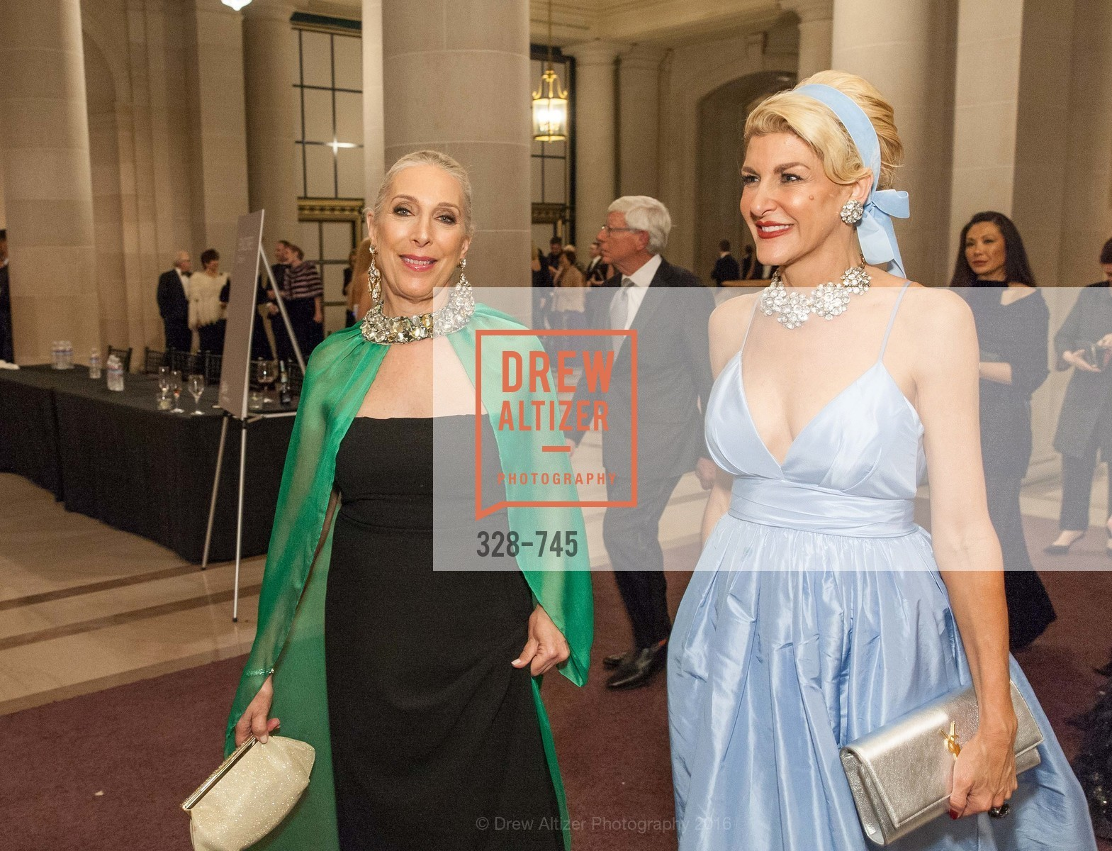 Betsy Linder, Karen Caldwell, San Francisco Ballet 2016 Opening Night Gala Part 2, San Francisco City Hall, January 21st, 2016,Drew Altizer, Drew Altizer Photography, full-service agency, private events, San Francisco photographer, photographer california