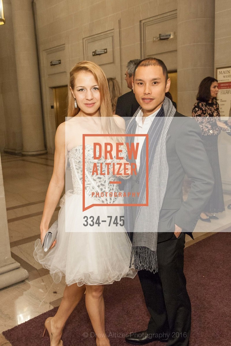 Yuliya Badyleva, Alan Yu, San Francisco Ballet 2016 Opening Night Gala Part 2, San Francisco City Hall, January 21st, 2016,Drew Altizer, Drew Altizer Photography, full-service agency, private events, San Francisco photographer, photographer california