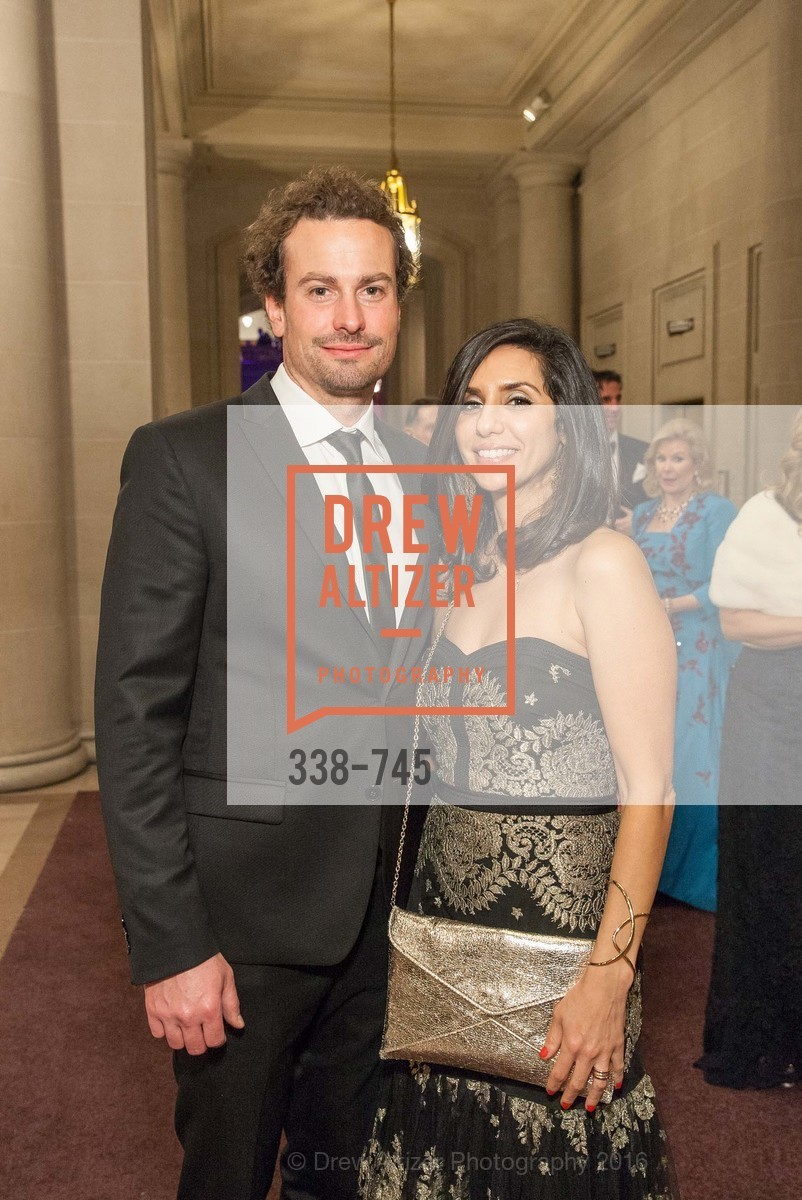 Ian Reynolds, Jessica O'Beri, San Francisco Ballet 2016 Opening Night Gala Part 2, San Francisco City Hall, January 21st, 2016,Drew Altizer, Drew Altizer Photography, full-service agency, private events, San Francisco photographer, photographer california