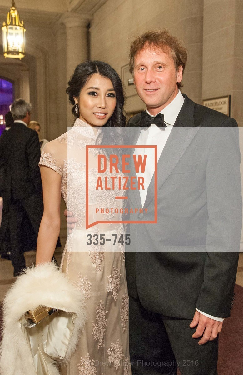 Carolyn Rau, Matthew Stepka, San Francisco Ballet 2016 Opening Night Gala Part 2, San Francisco City Hall, January 21st, 2016,Drew Altizer, Drew Altizer Photography, full-service agency, private events, San Francisco photographer, photographer california