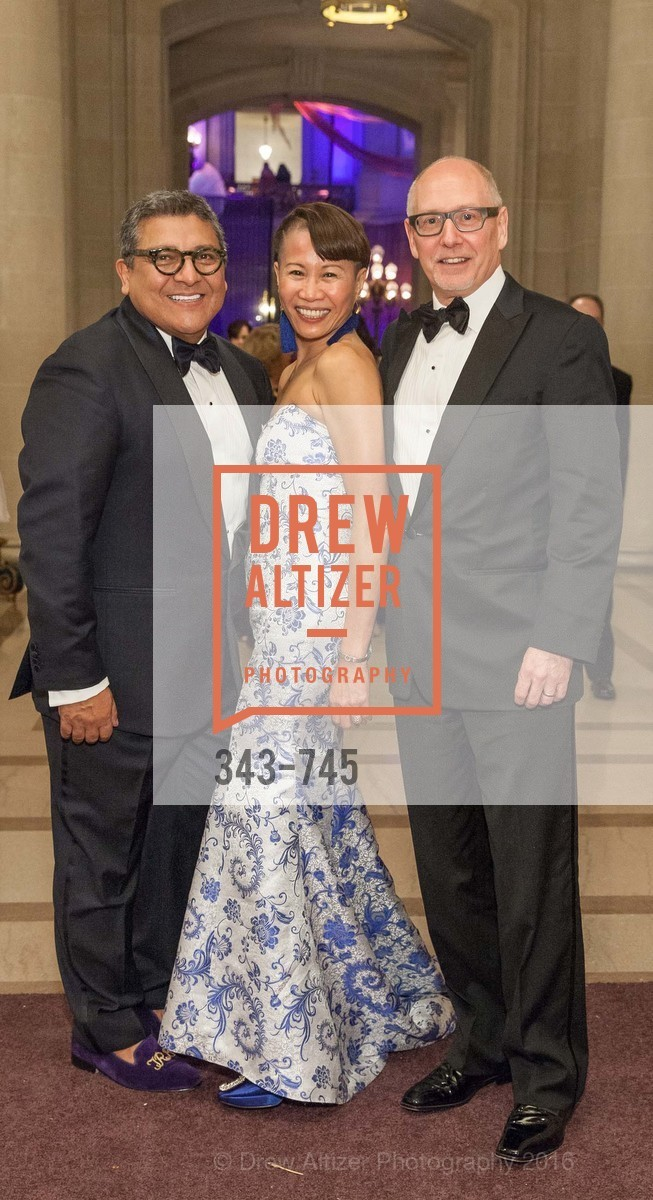 Riccardo Benavides, James Barnett, Mei Barnett, San Francisco Ballet 2016 Opening Night Gala Part 2, San Francisco City Hall, January 21st, 2016,Drew Altizer, Drew Altizer Photography, full-service agency, private events, San Francisco photographer, photographer california