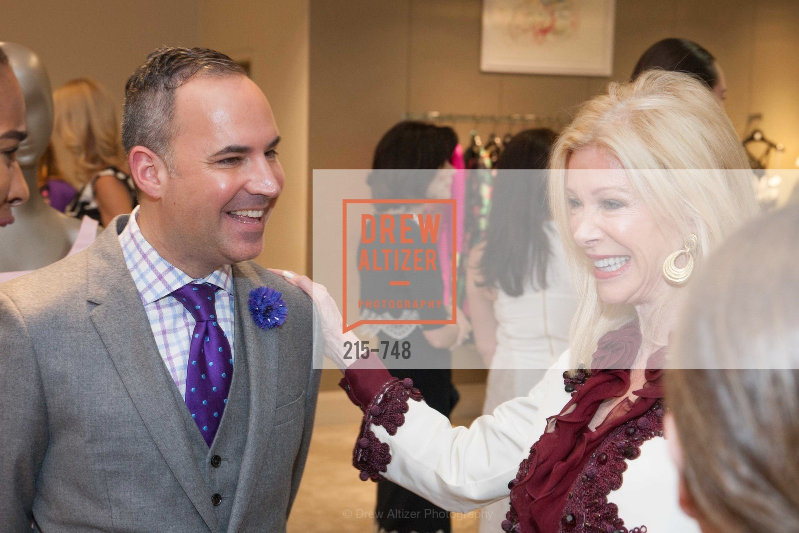 Robert Arnold-Kraft, Pamala Deikel, PETER COPPING'S Personal Appearance at SAKS FIFTH AVENUE, US, May 22nd, 2015,Drew Altizer, Drew Altizer Photography, full-service agency, private events, San Francisco photographer, photographer california