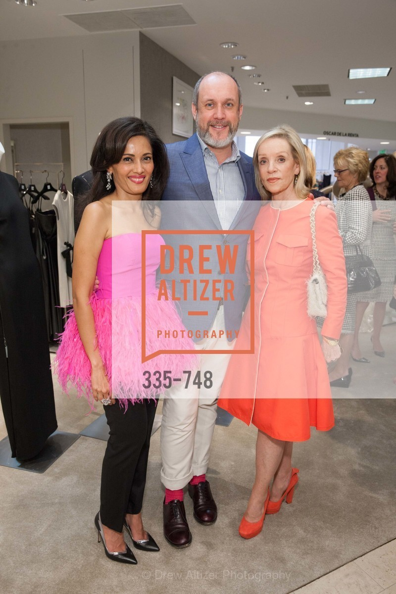 Komal Shah, Peter Copping, Barbara Brown, PETER COPPING'S Personal Appearance at SAKS FIFTH AVENUE, US, May 22nd, 2015,Drew Altizer, Drew Altizer Photography, full-service agency, private events, San Francisco photographer, photographer california