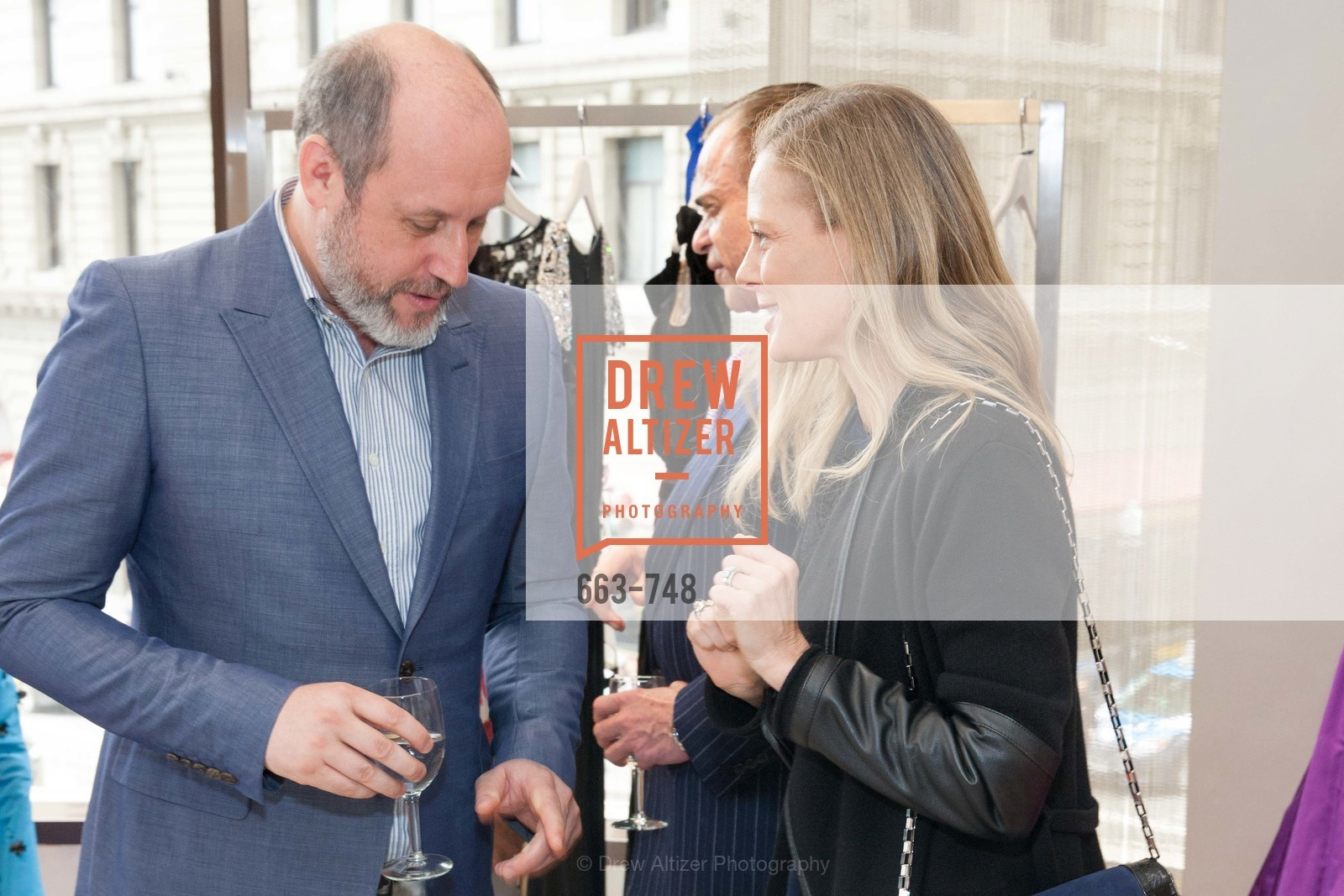 Peter Copping, Katie Traina, PETER COPPING Makes Personal Appearance at SAKS FIFTH AVENUE, US, May 21st, 2015,Drew Altizer, Drew Altizer Photography, full-service agency, private events, San Francisco photographer, photographer california