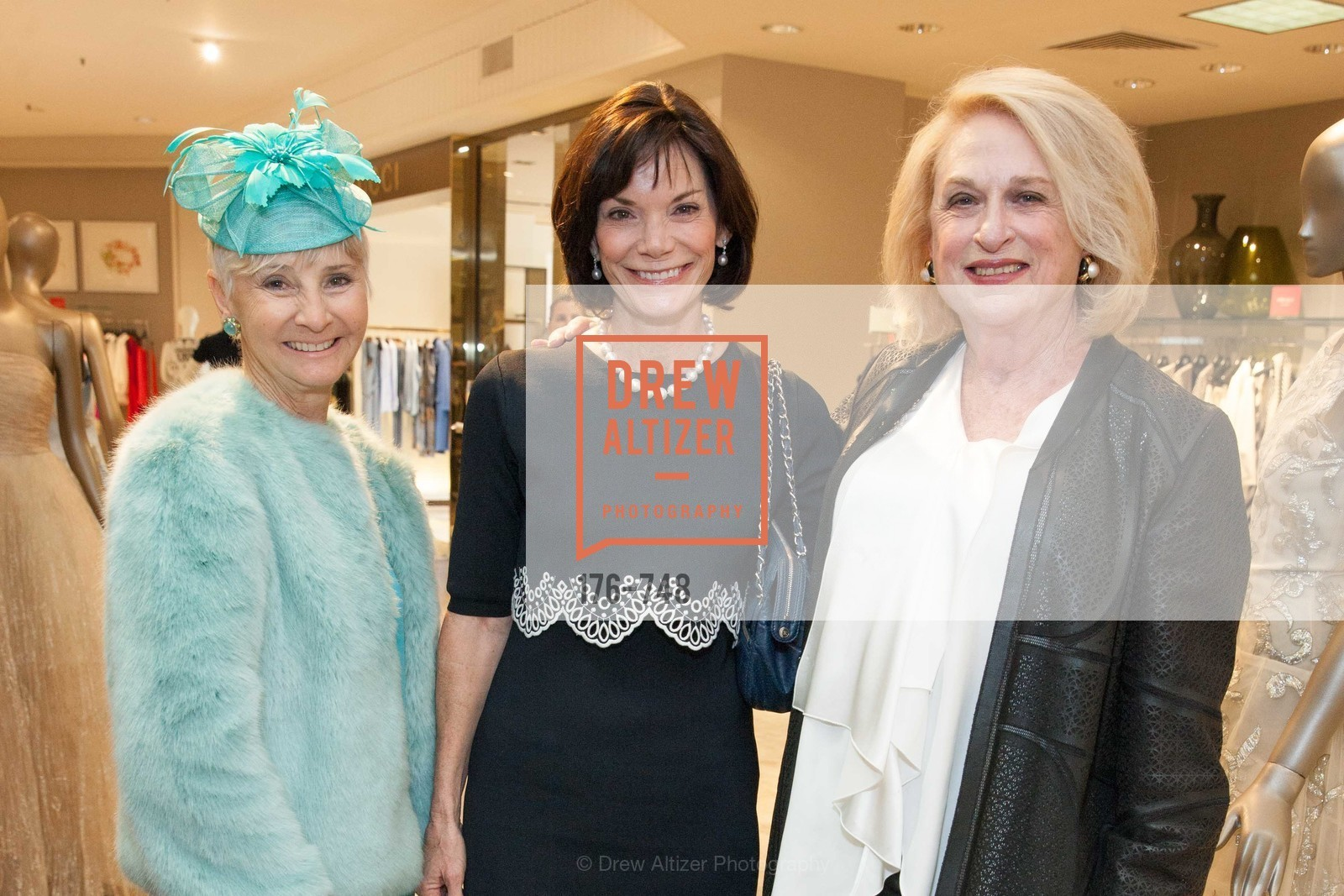 Gail Glasser, Lisa Mooring, Sally Debenham, PETER COPPING'S Personal Appearance at SAKS FIFTH AVENUE, US, May 22nd, 2015,Drew Altizer, Drew Altizer Photography, full-service agency, private events, San Francisco photographer, photographer california
