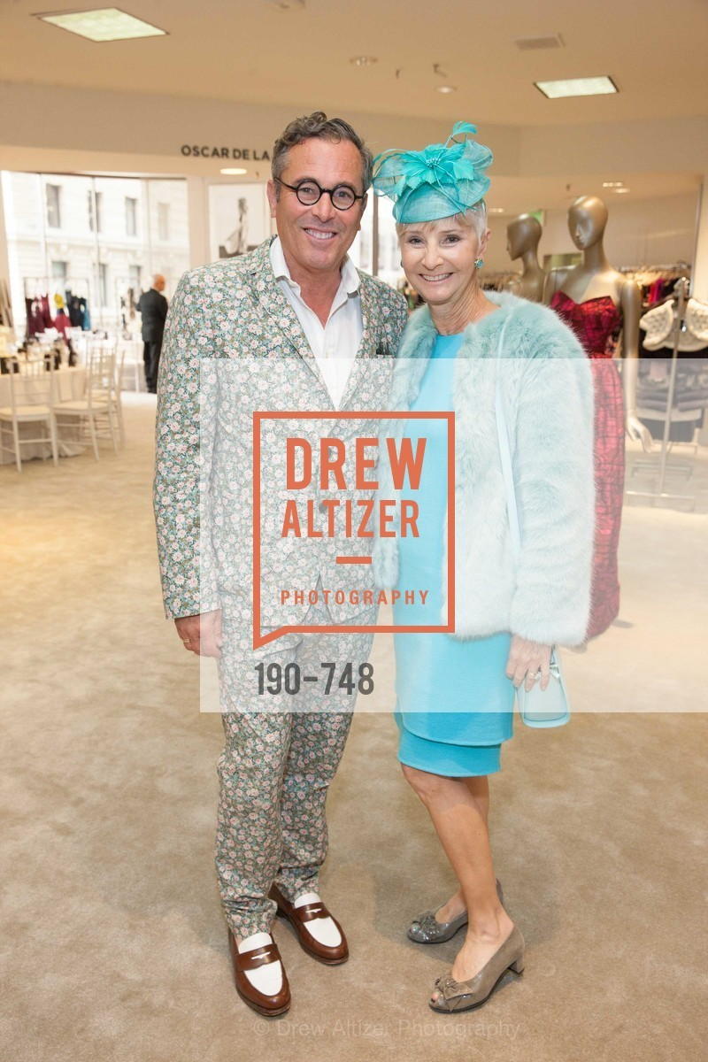 Ricky Serbin, Gail Glasser, PETER COPPING Makes Personal Appearance at SAKS FIFTH AVENUE, US, May 21st, 2015,Drew Altizer, Drew Altizer Photography, full-service agency, private events, San Francisco photographer, photographer california