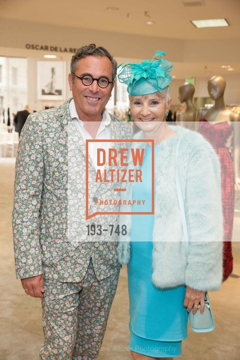 Ricky Serbin, Gail Glasser, PETER COPPING'S Personal Appearance at SAKS FIFTH AVENUE, US, May 22nd, 2015,Drew Altizer, Drew Altizer Photography, full-service agency, private events, San Francisco photographer, photographer california