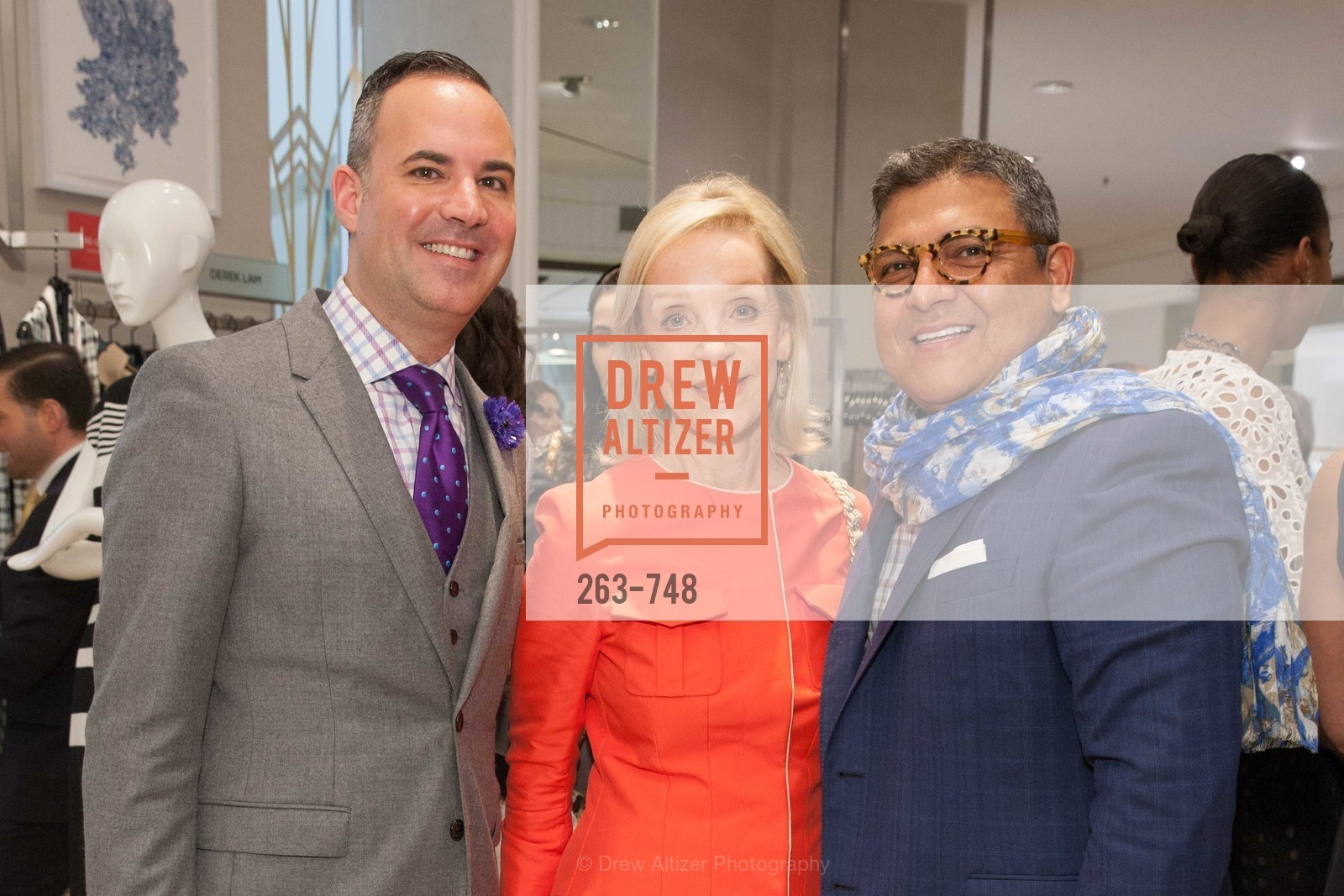 Robert Arnold-Kraft, Barbara Brown, Riccardo Benavides, PETER COPPING'S Personal Appearance at SAKS FIFTH AVENUE, US, May 22nd, 2015,Drew Altizer, Drew Altizer Photography, full-service agency, private events, San Francisco photographer, photographer california