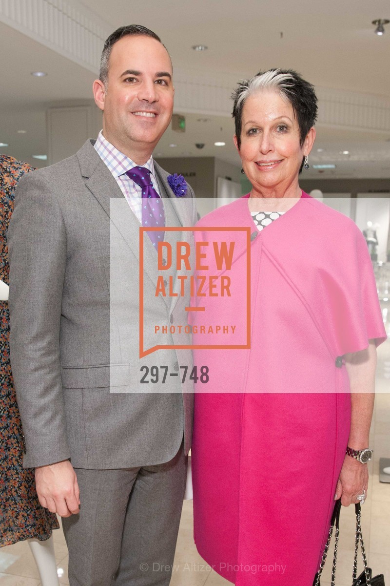 Robert Arnold-Kraft, Karen Kubin, PETER COPPING Makes Personal Appearance at SAKS FIFTH AVENUE, US, May 21st, 2015,Drew Altizer, Drew Altizer Photography, full-service agency, private events, San Francisco photographer, photographer california