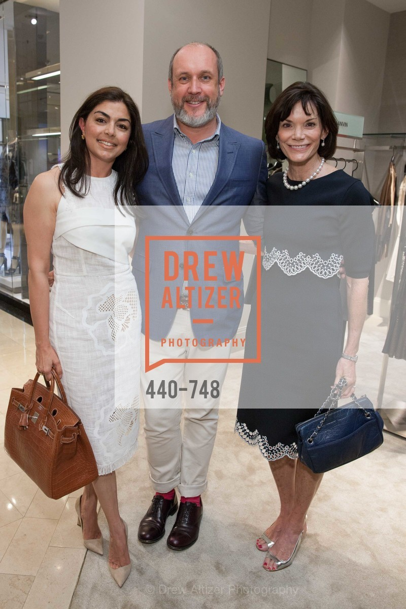 Sara Abassi, Peter Copping, Lisa Mooring, PETER COPPING'S Personal Appearance at SAKS FIFTH AVENUE, US, May 22nd, 2015,Drew Altizer, Drew Altizer Photography, full-service agency, private events, San Francisco photographer, photographer california