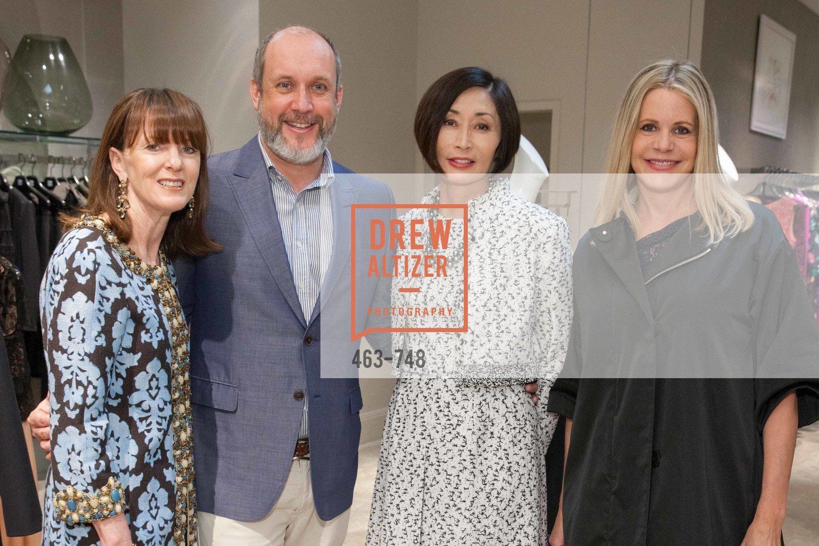 Allison Speer, Peter Copping, Yurie Pascarella, Mary Beth Shimmon, PETER COPPING'S Personal Appearance at SAKS FIFTH AVENUE, US, May 22nd, 2015,Drew Altizer, Drew Altizer Photography, full-service agency, private events, San Francisco photographer, photographer california