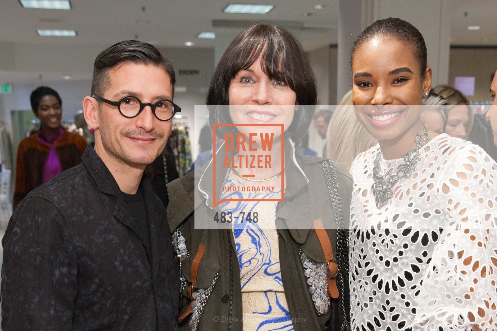 Rambert Rigaud, Christine Suppes, Tyler Blake, PETER COPPING'S Personal Appearance at SAKS FIFTH AVENUE, US, May 22nd, 2015,Drew Altizer, Drew Altizer Photography, full-service agency, private events, San Francisco photographer, photographer california