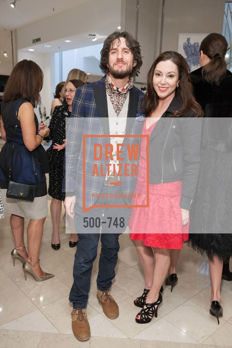 Jacques Tantazes, Mary Beth Lamotte, PETER COPPING'S Personal Appearance at SAKS FIFTH AVENUE, US, May 22nd, 2015,Drew Altizer, Drew Altizer Photography, full-service agency, private events, San Francisco photographer, photographer california