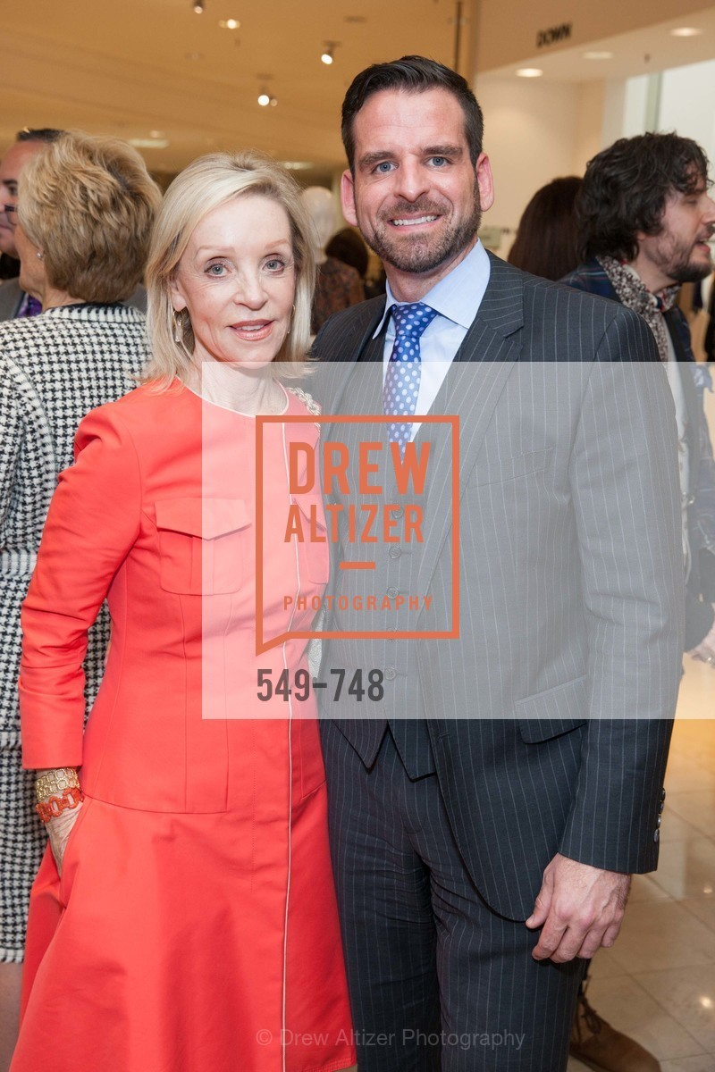 Barbara Brown, Ryan Williams, PETER COPPING Makes Personal Appearance at SAKS FIFTH AVENUE, US, May 21st, 2015,Drew Altizer, Drew Altizer Photography, full-service agency, private events, San Francisco photographer, photographer california