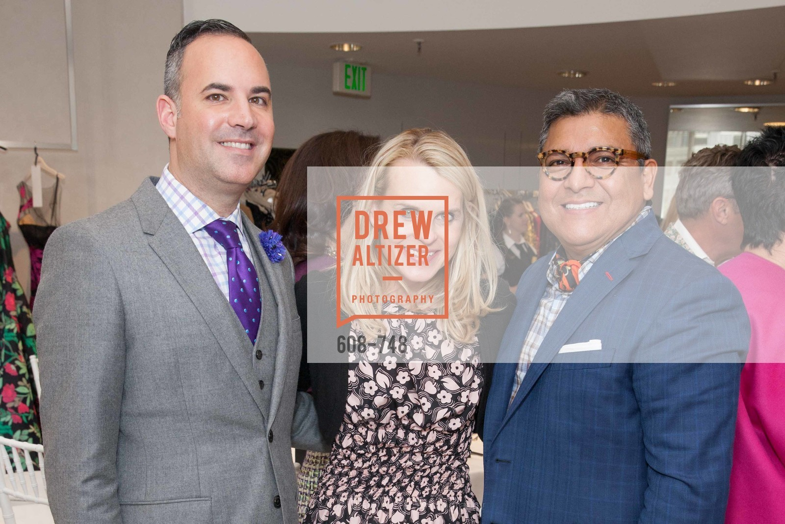 Robert Arnold-Kraft, Jane Mudge, Riccardo Benavides, PETER COPPING Makes Personal Appearance at SAKS FIFTH AVENUE, US, May 21st, 2015,Drew Altizer, Drew Altizer Photography, full-service agency, private events, San Francisco photographer, photographer california