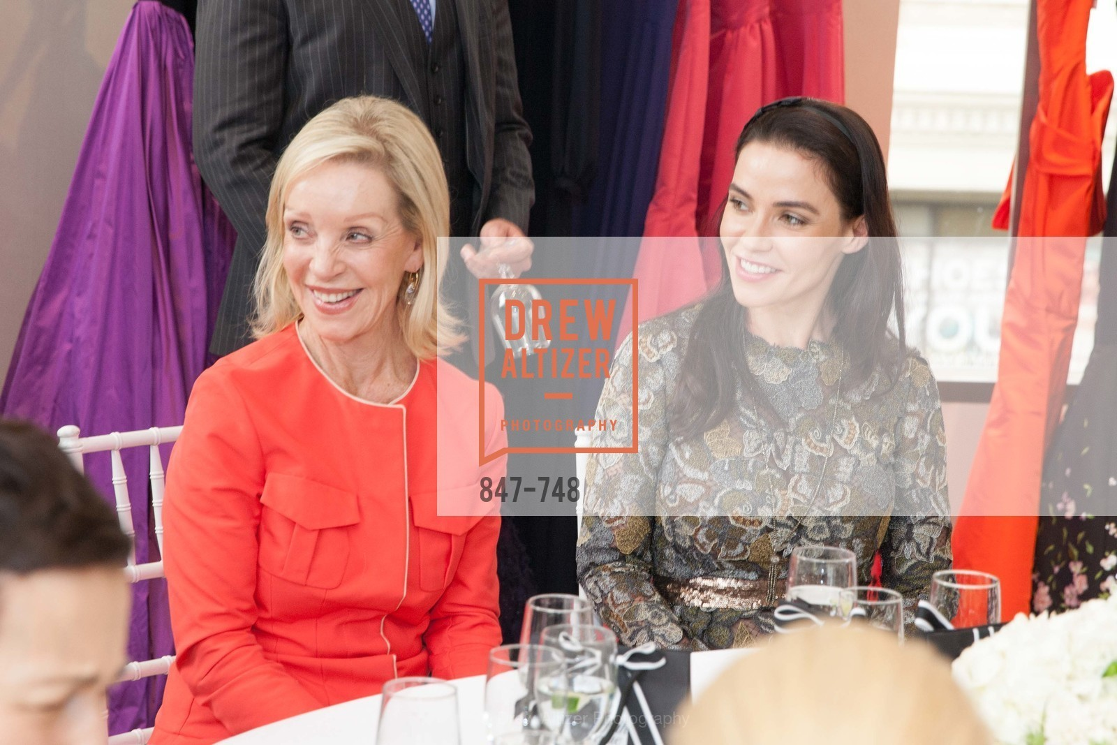 Barbara Brown, Angela Hamby, PETER COPPING'S Personal Appearance at SAKS FIFTH AVENUE, US, May 22nd, 2015,Drew Altizer, Drew Altizer Photography, full-service agency, private events, San Francisco photographer, photographer california