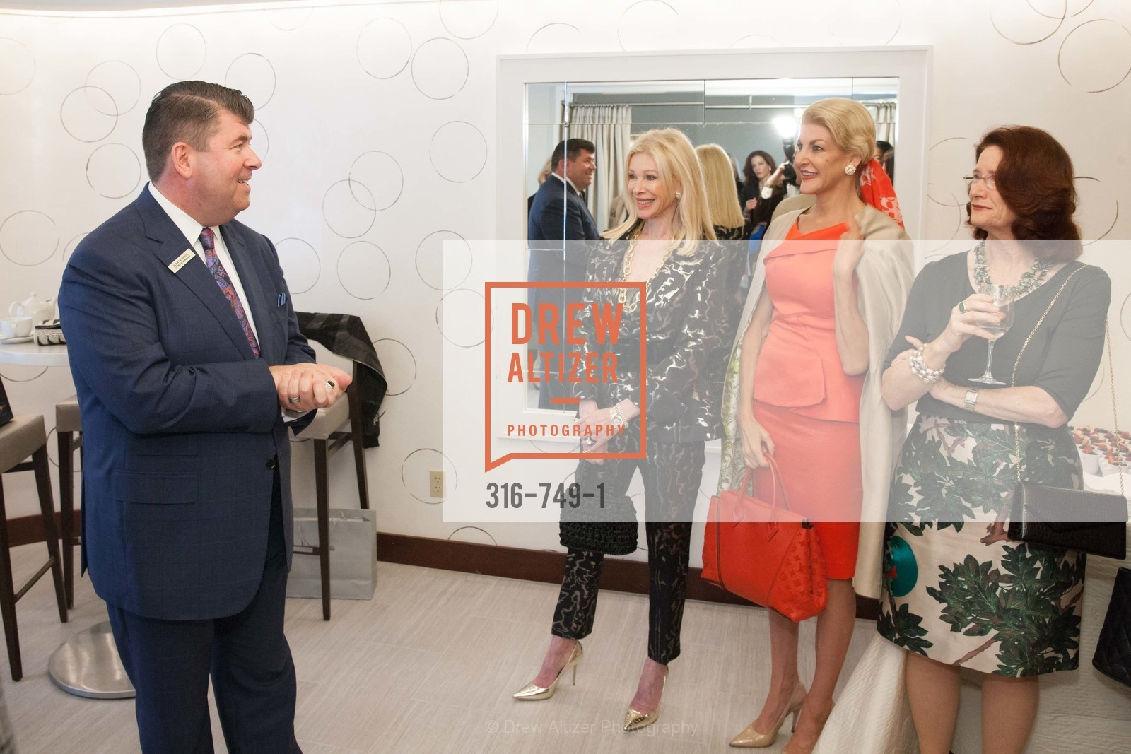Alan Morrell, Pamala Deikel, Karen Caldwell, Cynthia Woods, PETER COPPING Meets and Greets OSCAR DELA RENTA Clients and Associates at NEIMAN MARCUS, US, May 23rd, 2015,Drew Altizer, Drew Altizer Photography, full-service agency, private events, San Francisco photographer, photographer california